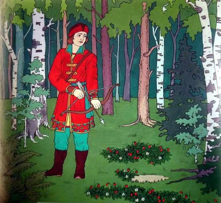 Иван-царевич — добрый и смелый молодец
