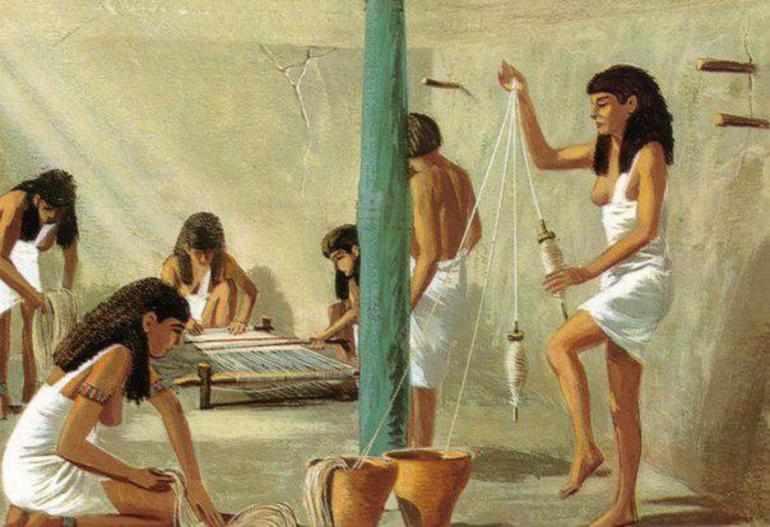 Ремесленники в египте
