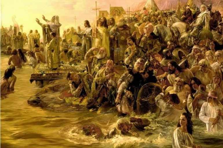 Князь владимир крещение руси