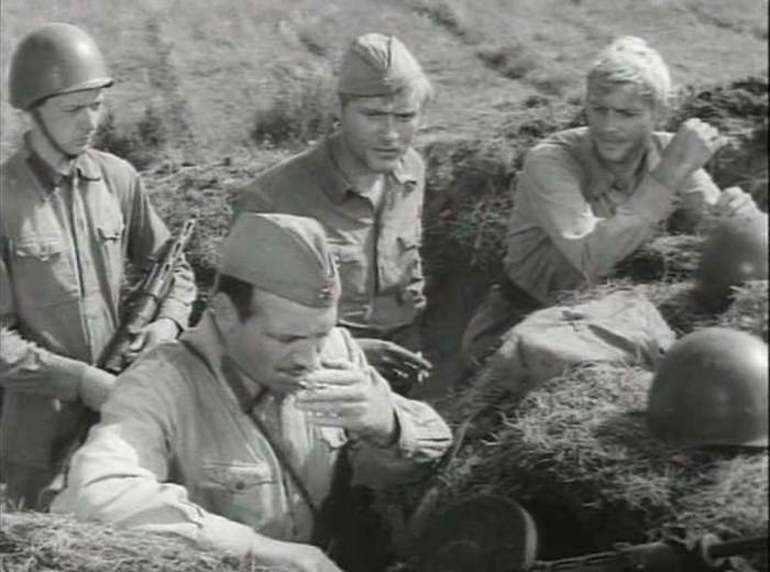 Солдаты в рассказе «Журавлиный крик»