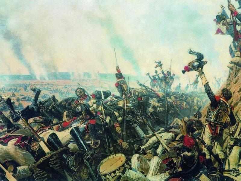 Конец Бородинского сражения