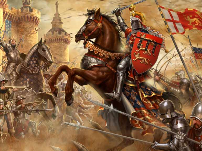 Рыцари — сильные, смелые воины