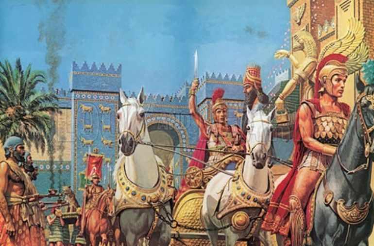 Завоевание Египта Александром Македонским