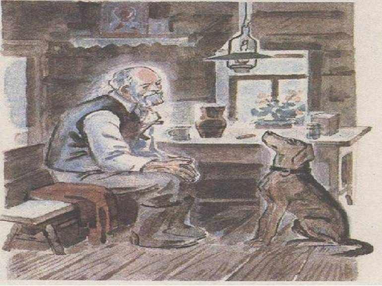 Иллюстрация к сказке кладовая солнца