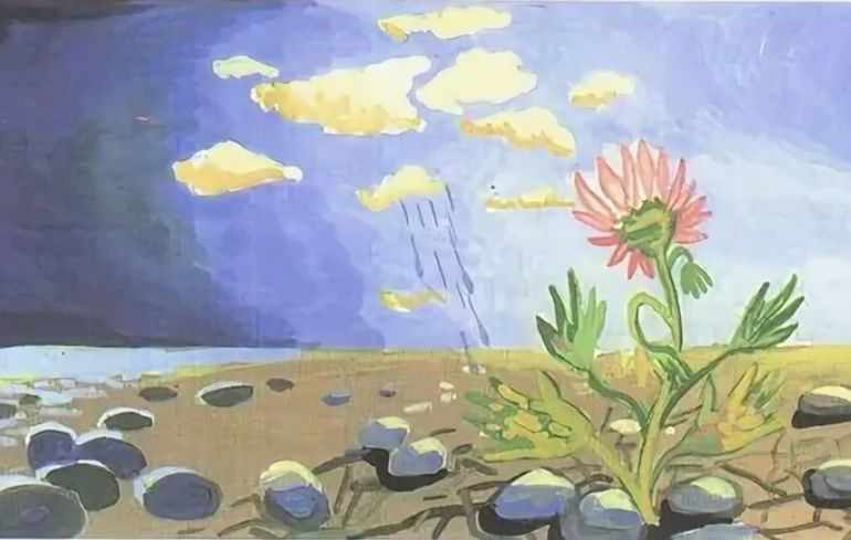 Платонов неизвестный цветок кратко