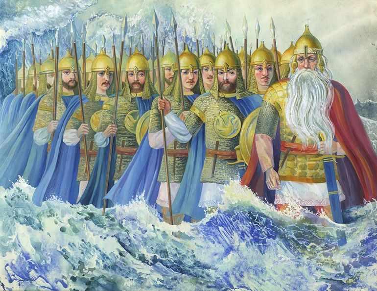 Тридцать три богатыря и дядька Черномор