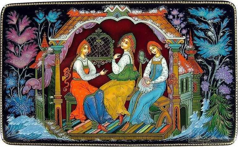 Герои сказки о царе салтане