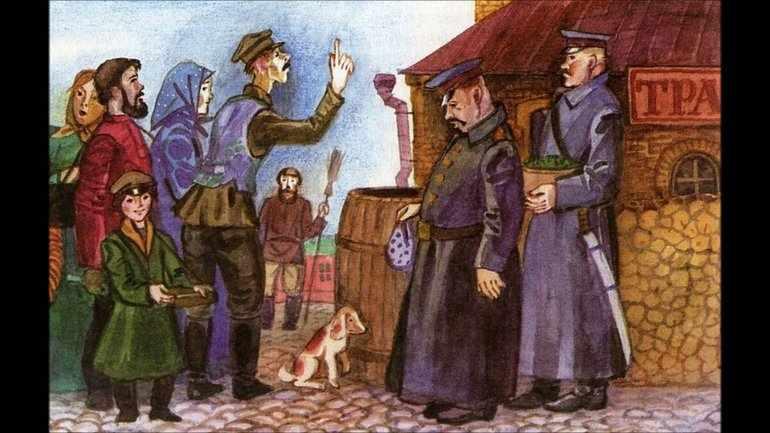 Унтер пришибеев краткое содержание чехов