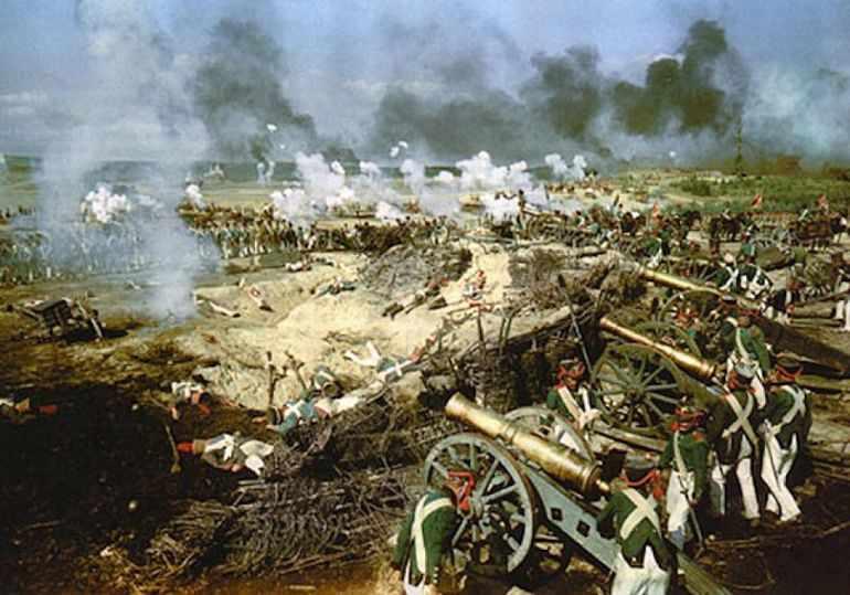 Бородинское сражение в романе «Война и мир»