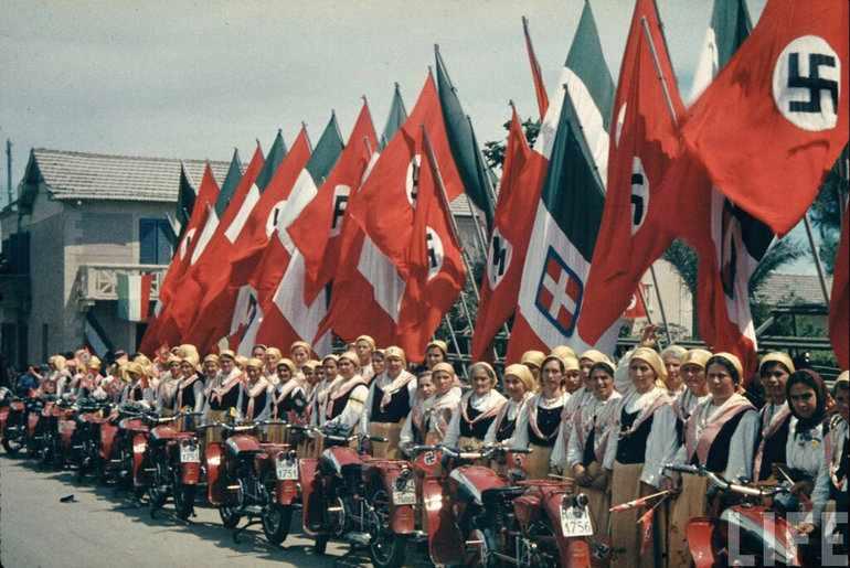 Итальянский фашизм поход на рим