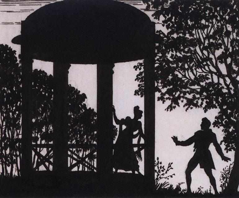 Однажды Володя увидел Машу в саду