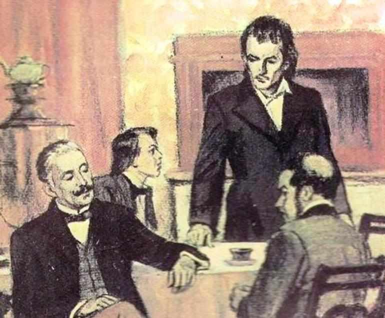 Спор между Базаровым и Кирсановым