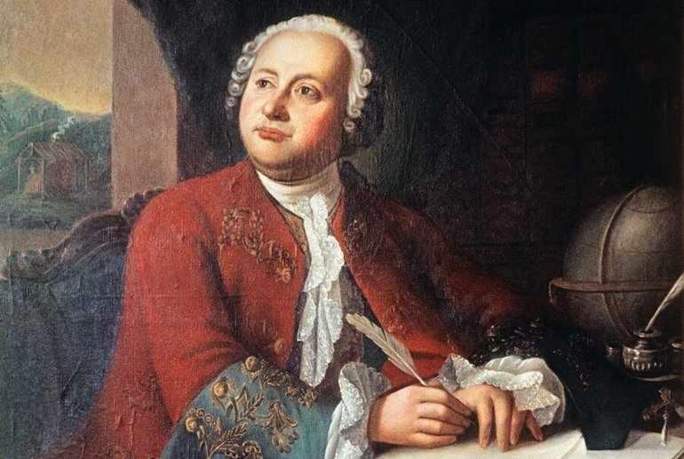 Ученый М. Ломоносов