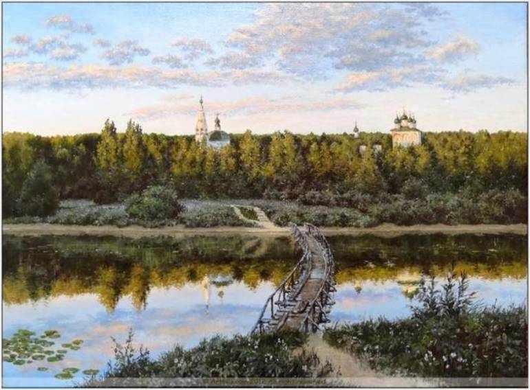 Сочинение по картине левитана тихая обитель описание картины