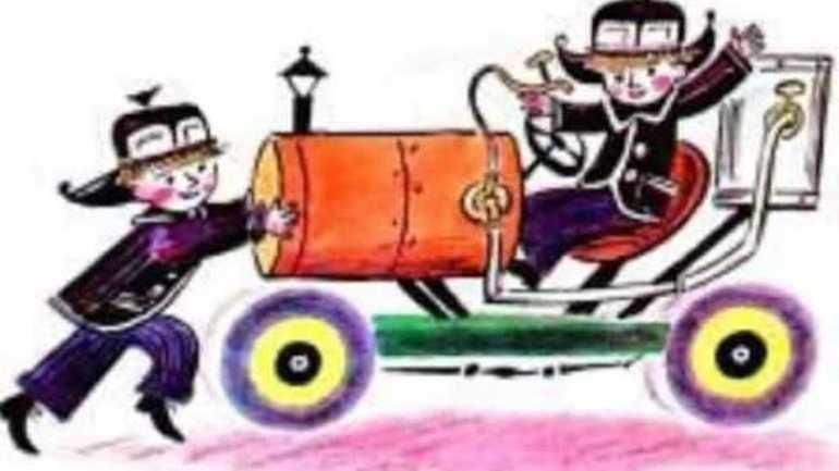 Бублик: водитель автомобиля на газировке
