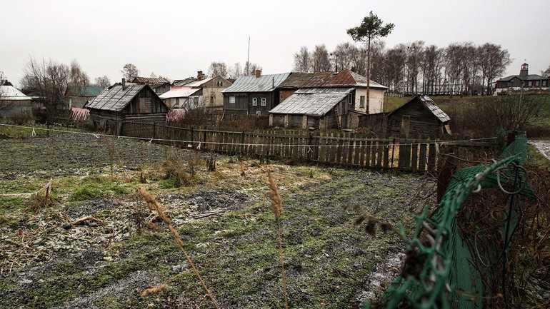 Плачевное состояние деревни
