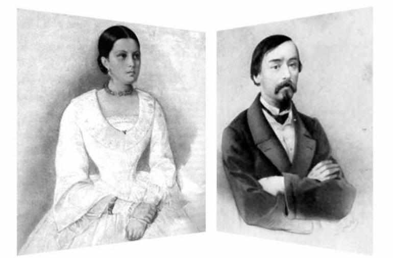Отношения А. Панаевой и Н. А. Некрасова