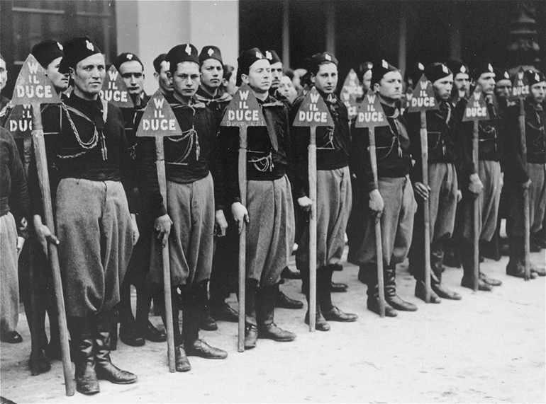 Муссолони итальянский фашизм