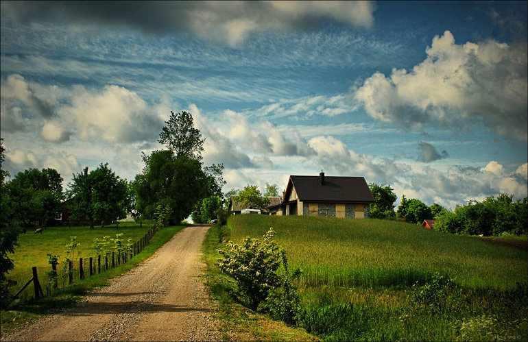 сочинение про деревню