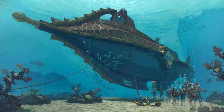 Подводная прогулка
