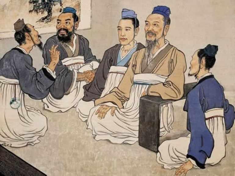 Конфуций и его ученики