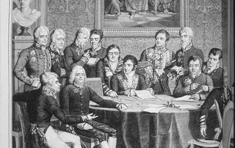 Заседание Венского конгресса