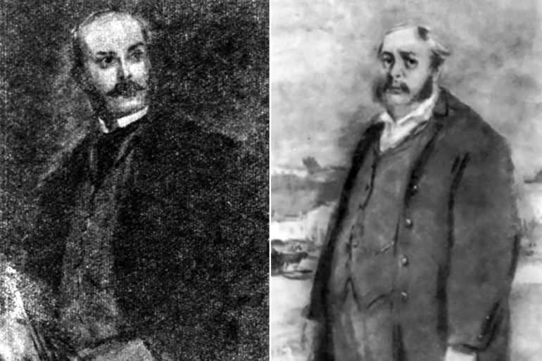 Николая Петровича Кирсанова с его братом Павлом Кирсановым