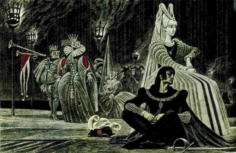 Гамлет главные герои характеристика