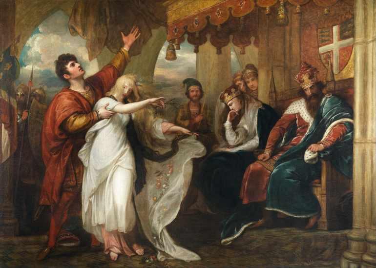 Гамлет главные герои