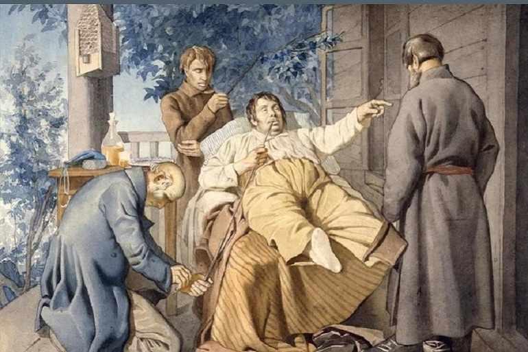 Для Зверкова и его жены крепостные — обыкновенные рабы