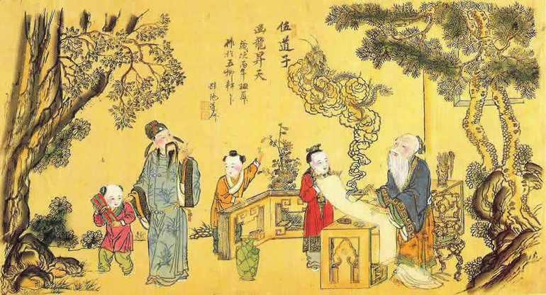 Древний китай (история 5 класс)