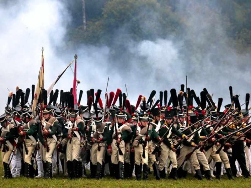 Войска на Бородино