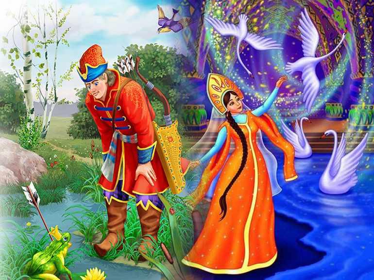 Характеристика герои сказки царевна лягушка