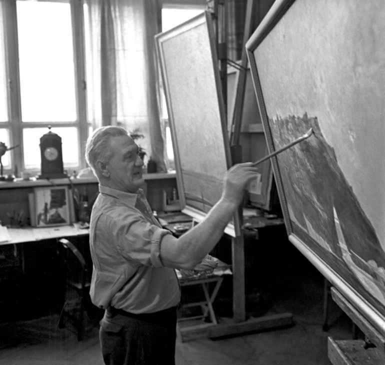 Картины художника Нисского