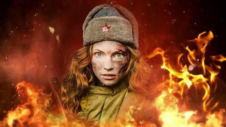 У войны не женское лицо герои