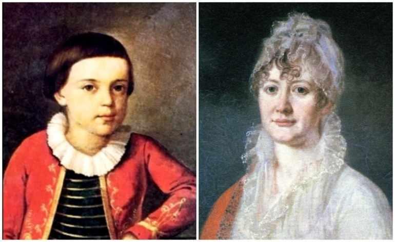 Лермонтов и его бабушка
