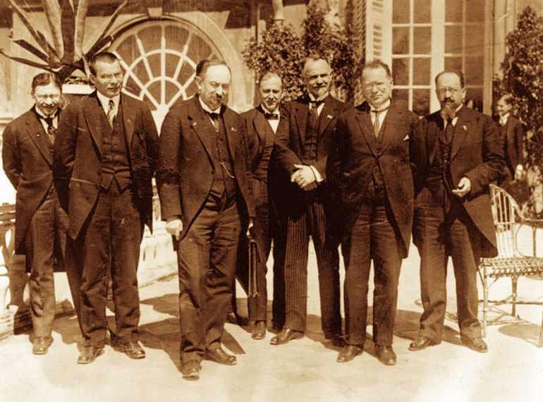 Генуэзская конференция в 1922 году
