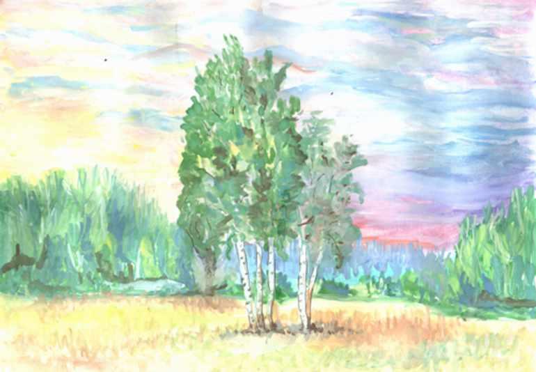 Лес и степь записки охотника