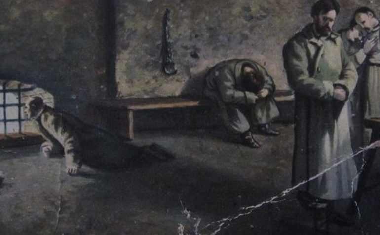 В 1862 году Чернышевского схватили и заключили в Петропавловскую крепость
