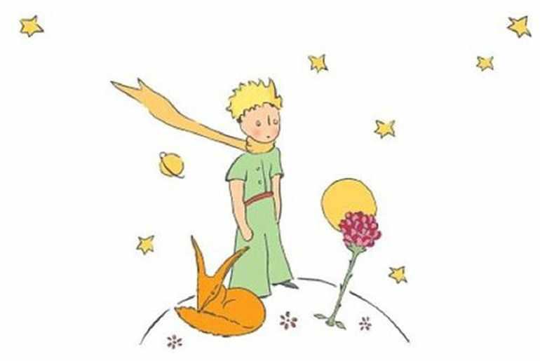 Маленький принц на планете