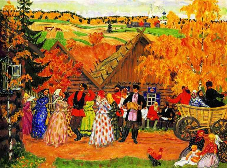 Картина «Деревенский праздник»