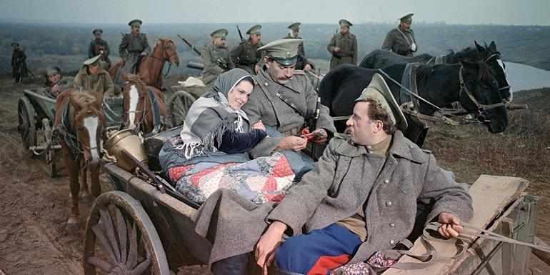 Аксинья и Григорий решают уехать из дома
