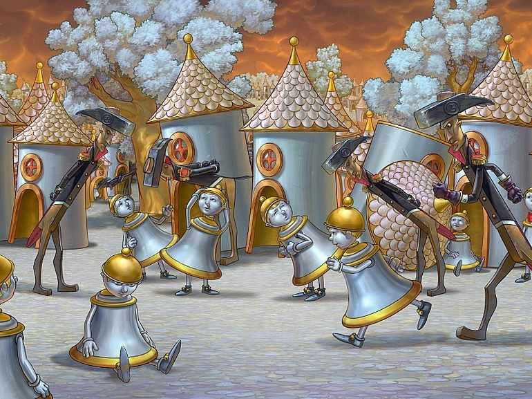Главные герои одоевский городок в табакерке