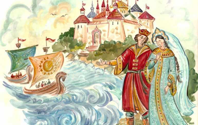 Сказка о царе салтане главные герои характеристика