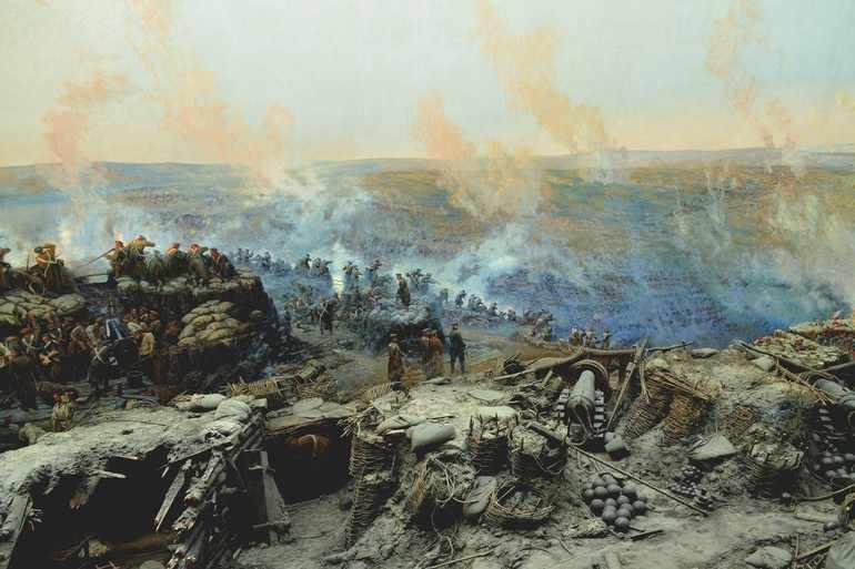 Поражение русских войск