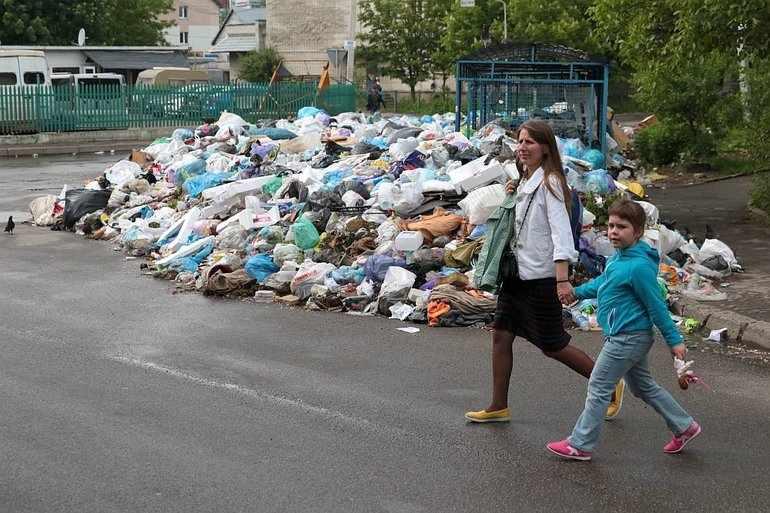 Чистота в русских городах — большая проблема