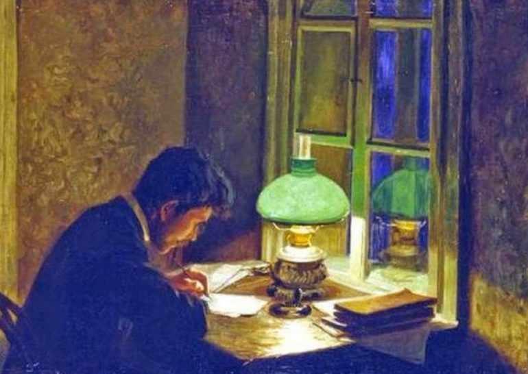 Зеленая лампа краткое содержание