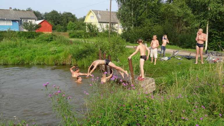 Летние каникулы в деревне сочинение