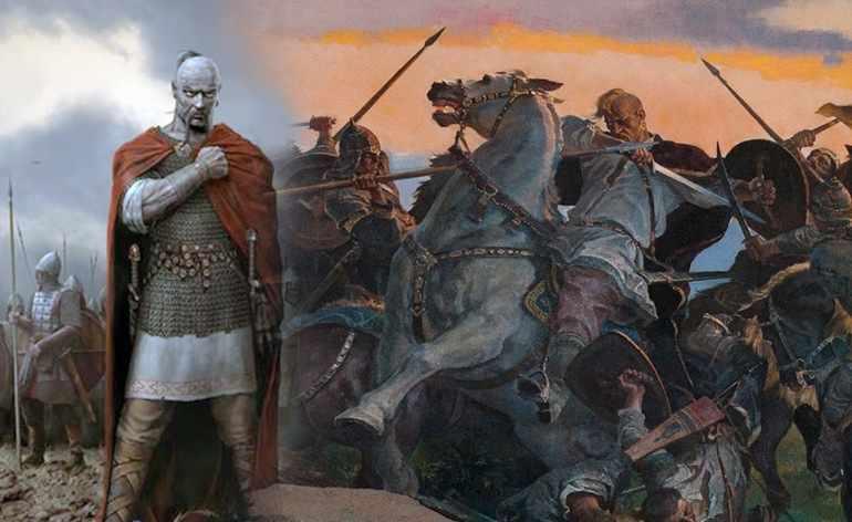 Святослав постоянно пребывал в военных походах